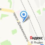Центральный на карте Архангельска