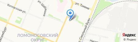 Издательский дом на карте Архангельска