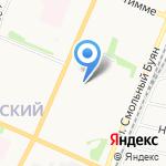 Нотариус Каторина Т.Э. на карте Архангельска