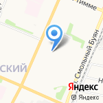 Ю-Питер на карте Архангельска