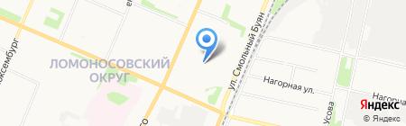 РосМебель на карте Архангельска