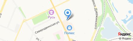 Ритуальные услуги на карте Архангельска