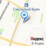 Автокомплекс на карте Архангельска
