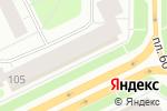 Схема проезда до компании Пекарня-кондитерская в Архангельске