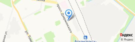 Славные окна ПЛЮС на карте Архангельска