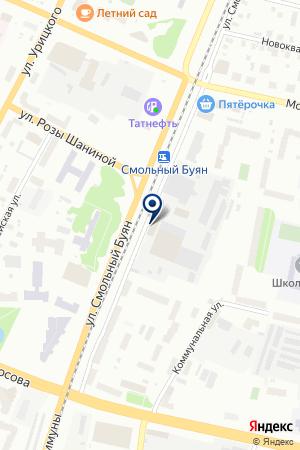 ФондСервисБанк на карте Архангельска