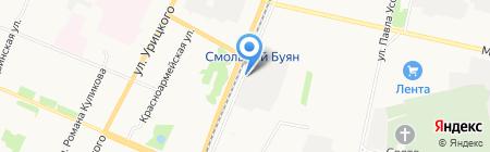 CARPARTS на карте Архангельска