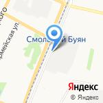 Отдел ГИБДД по г. Архангельску на карте Архангельска