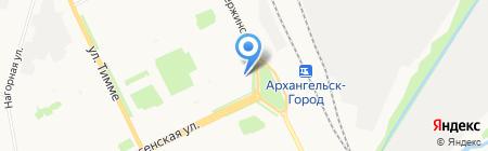 ОптикаЛинз на карте Архангельска