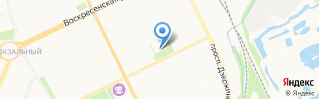 Средняя общеобразовательная школа №33 на карте Архангельска