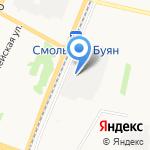 Derevo на карте Архангельска
