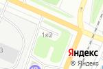 Схема проезда до компании Автор в Архангельске