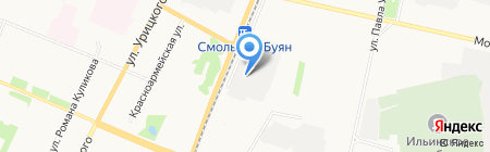 Динамика ООО автосалон Land Rover на карте Архангельска