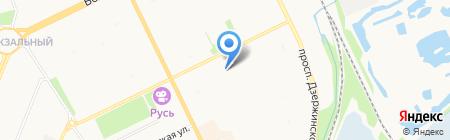 Средняя общеобразовательная школа №20 на карте Архангельска