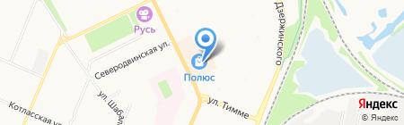 Хэллоу Китти на карте Архангельска