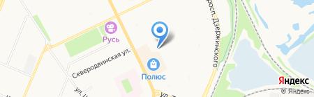 Банкомат Балтийский Банк на карте Архангельска