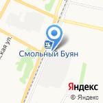 Архангельские готовые бани на карте Архангельска