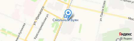 Моссервис+ на карте Архангельска