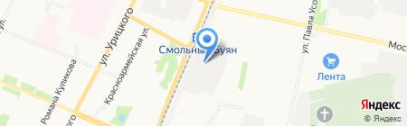 AVTOVO motors на карте Архангельска