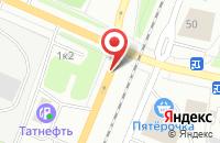 Схема проезда до компании Надежда-4 в Архангельске