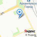 Сосенка на карте Архангельска