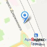 Синтез-ЛТ на карте Архангельска