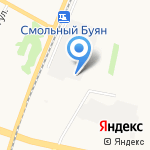 Терем на карте Архангельска