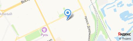 Агробиостанция на карте Архангельска
