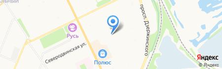 Нежный возраст на карте Архангельска