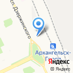 SPAR на карте Архангельска