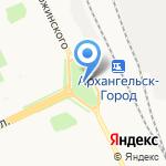 Храм Новомучеников и Исповедников земли Архангельской на карте Архангельска