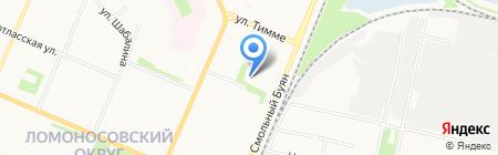 Лицей информационных технологий на карте Архангельска