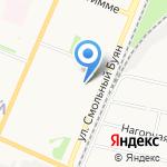 Стройбат на карте Архангельска