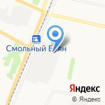 Бавария-Авто на карте Архангельска