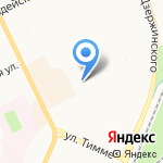Следственный отдел по Ломоносовскому округу г. Архангельска на карте Архангельска