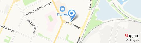 Тимме 2 на карте Архангельска
