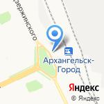 Starfoods на карте Архангельска