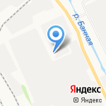 Спутник на карте Архангельска