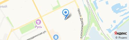 СтройКомБанк на карте Архангельска