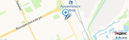 Magnolia на карте Архангельска