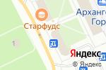 Схема проезда до компании Гифт shop в Архангельске