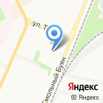 Wais на карте Архангельска