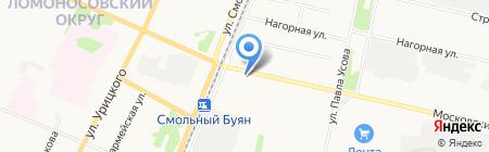 Мясные продукты на карте Архангельска