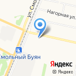 Магазин хозяйственных товаров на карте Архангельска