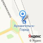 Магазин сувениров и подарков на карте Архангельска