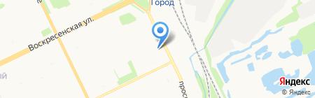 Сервисный центр по ремонту компьютерной техники на карте Архангельска