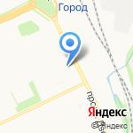 Акцент на карте Архангельска