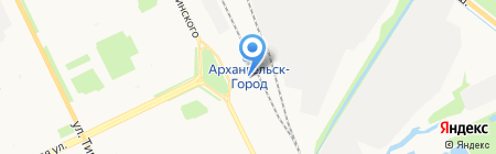 Гирос на карте Архангельска