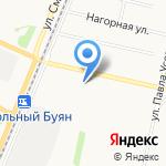 Пирожковая на карте Архангельска