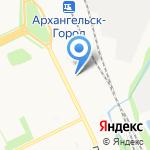 Don Kebab на карте Архангельска